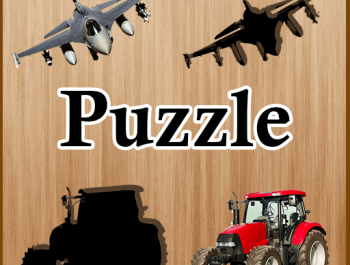 Kids Puzzle Vehicles